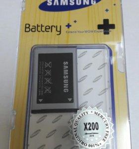 Аккумулятор оригинал Samsung X200 новый