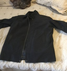 Куртка зимняя мужская воротник мутон мех