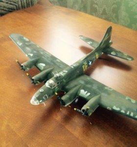 Модель самолета В 17 1:72