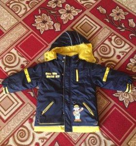 """Куртка осень-зима """"непромокашка"""""""