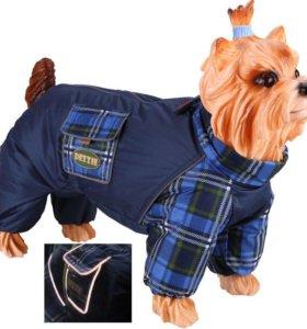 Комбинезон - толстовка на флисе для собак