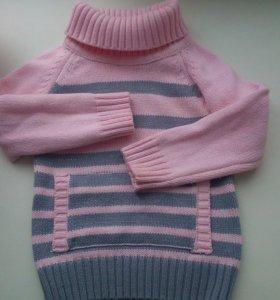 Теплый свитер на 1-2 года