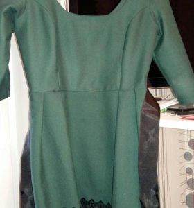 Платье 44-46+сумочка