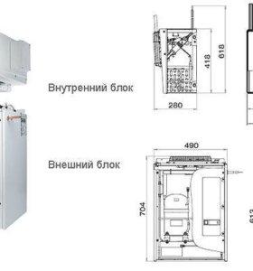 Холодильная камера сплит система SW109SF