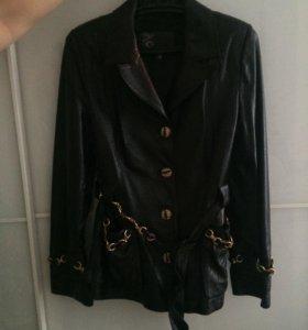 Женская кожаная куртка NURCINI