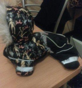 Комбензон на карликовую собачку..зимний