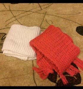 2 шарфа за 500 р