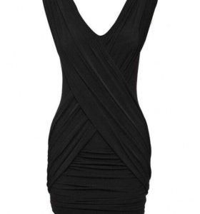 Платье чёрное LV