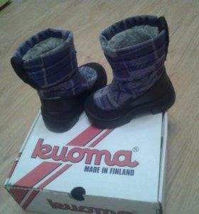 Детские сапоги Kuoma зима