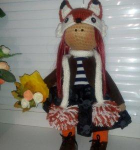 Текстильные куклы, интерьерные куклы ручной работы