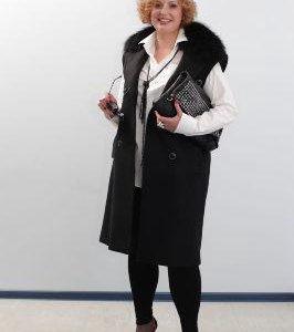 Новое, Стильное, уютное, двубортное пальто блэк