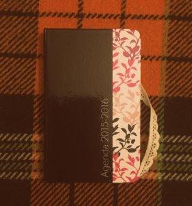 Новый блокнот-ежедневник для записей