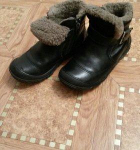 Ботинки зимние. р.31