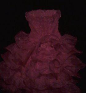 Платье детское  на новый год