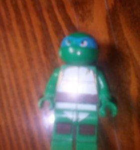 Лего Леонардо из черепашек ниндзя