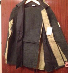 Рабочий костюм для сварочных работ.