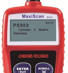 Maxiscan MS309 OBD2 автомобильный сканер