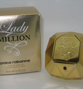 Lady million. Paco Rabanne