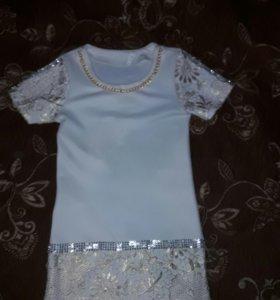 Платье для девочки 8-12 лет