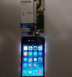 Модуль Iphone 4s черный/белый