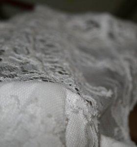 Продам свадебное платье+подарок.