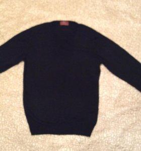 Мужской пуловер,  шерсть,   Италия