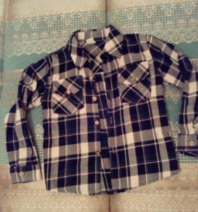 Рубашка байковая