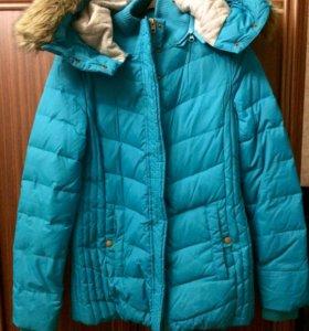 Женская зимняя  пуховая куртка