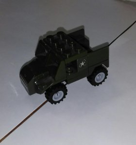 Военная машина Лего