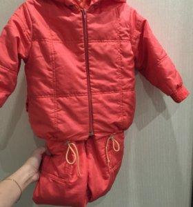 Куртка и комбинезон рост 92