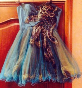Эксклюзивное вечернее платье 46 размер