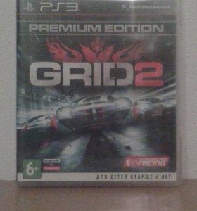 Игра на ps3 (GRID2)