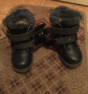 Детские зимние ботинки!