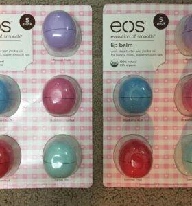 Бальзамы для губ EOS