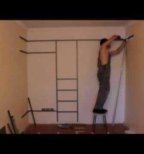 Ремонт мебели, шкафов, диванов и сборка.