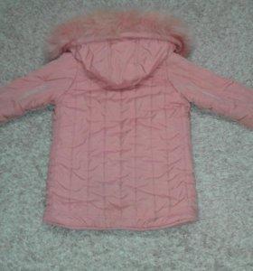 Куртка зима девочка