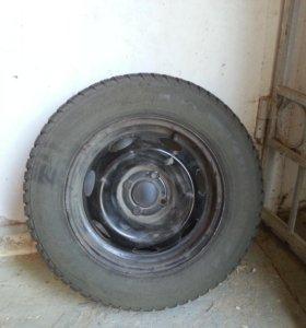 Колеса зимние кумхо kw21 r15, 205, 65