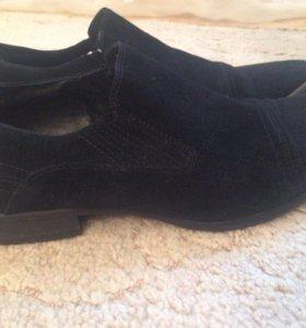 Туфли мужские классика натуральная замша 42