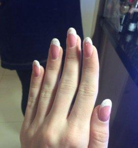 Наращивание ногтей хожу на дом