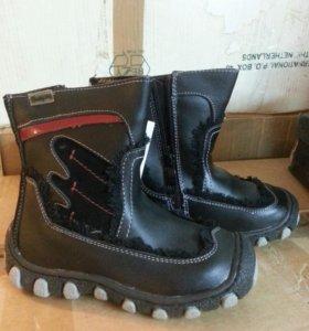 Новые зимни ботинки