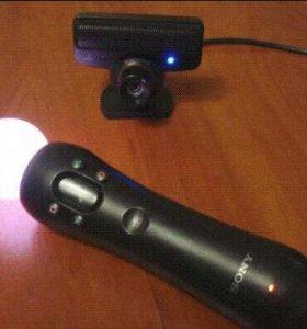 Move   и камера н на PlayStation3