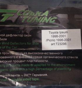 Накладной дефлектор окон автомобиля