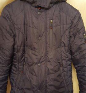 Синяя!Куртка зимняя KIKO(до 170см)