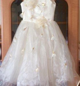 Бальное детское платье