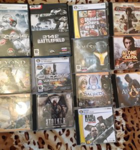 Игры, диски, лицензия