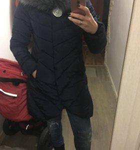 Женский зимний пуховик 42-44