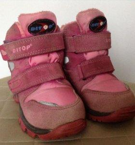 Зимние ботинки Ditop