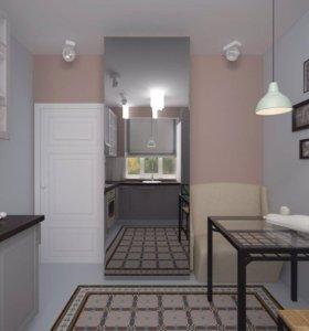 Ремонт квартир и коттеджей под ключ