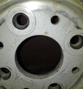 Шипованное колесо на литье