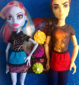 Эбби и Хит Monster high
